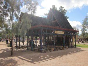 Royal Pavilion Stage at Arizona Renaissance Festival