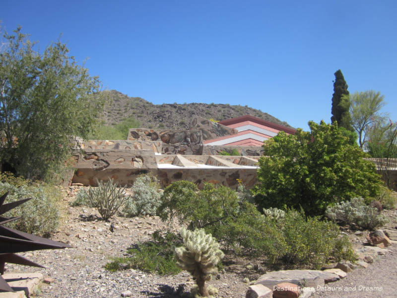 Taliesin West, Frank Lloyd Wright's school and home in Scottsdale Arizona