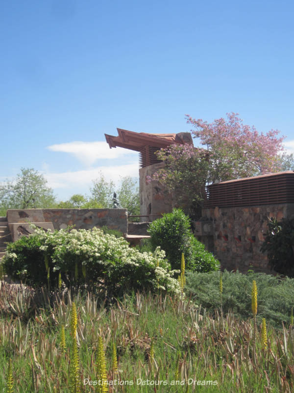 Water tower at Taliesin West in Scottsdale Arizona