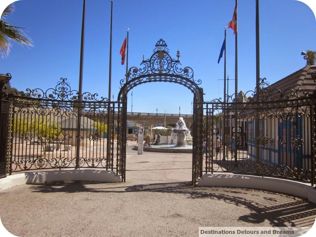 English Village gate Lake Havasu