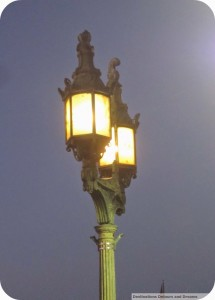 London Bridge lamp posts