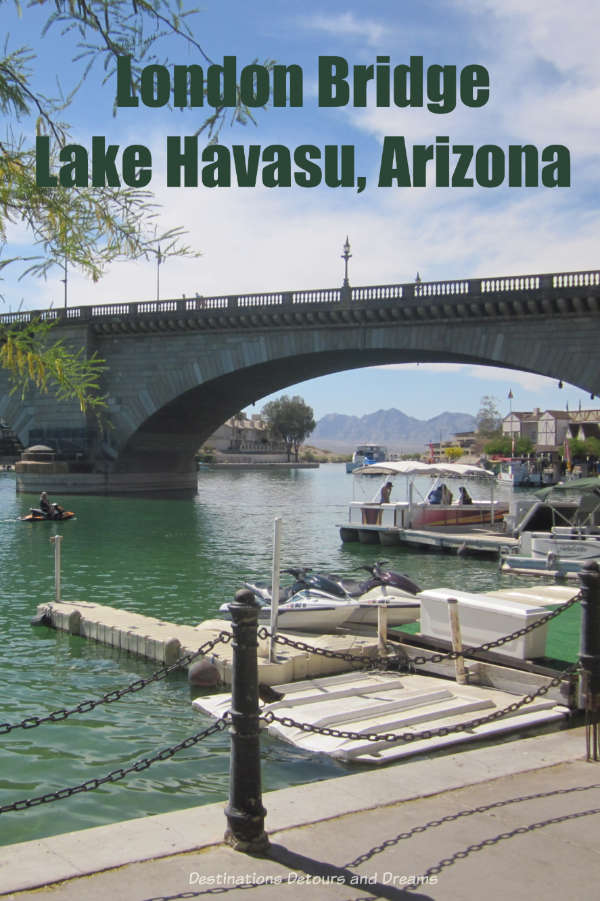 London Bridge isn't falling down. It's in Lake Havasu, City, Arizona #Arizona #LakeHavasu #LondonBridge #quirky