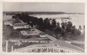 Postcard Winnipeg Beach