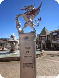 City of London statue Lake Havasu City