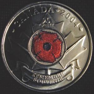 Poppy coin