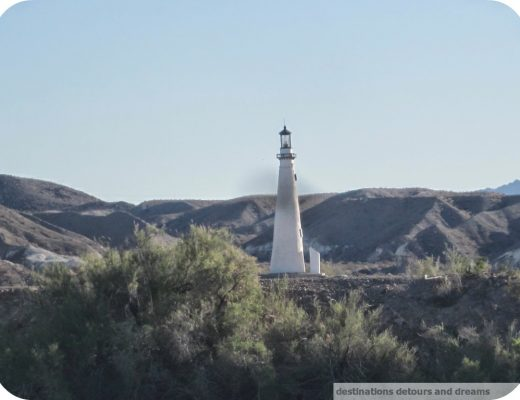 Lake Havasu Wind Point lighthouse replica