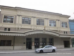 Pantage's Theatre in Winnipeg's historic Exchange District - a walking tour of the East exchange area.