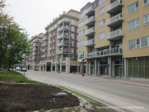 New condos in Winnipeg's historic Exchange District - a walking tour of the East exchange area.