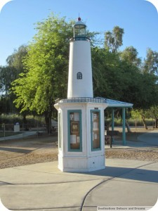 Lake Havasu lighthouse kiosk