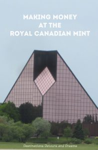 Take a tour of the Royal Canadian Mint in Winnipeg, Manitoba and see how coins are made for Canada and other countries