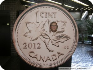 photo in Canadian penny