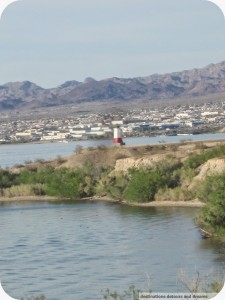 Lake Havasu Vermillion lighthouse replica