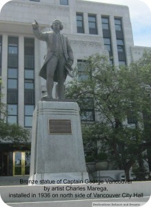 George Vancouver statue