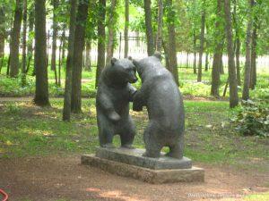 Leo Mol bear sculpture