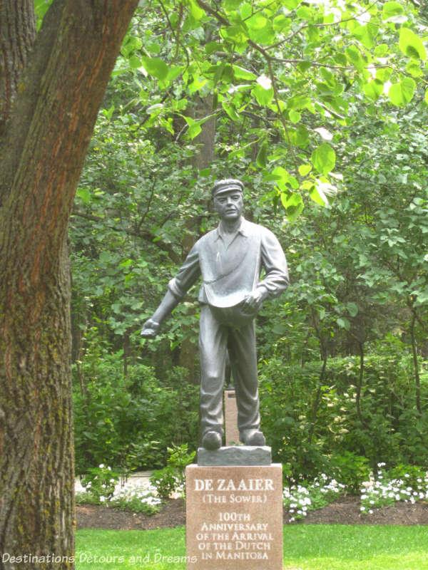 "Leo Mol ""De Zaaier"" sculpture"
