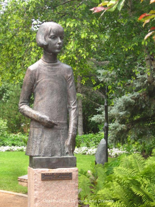 "Leo Mol ""Mary McGiverin"" sculpture"