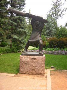 """Leo Mol """"Tom Lamb"""" sculpture"""