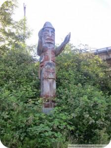 Totem pole Vancouver