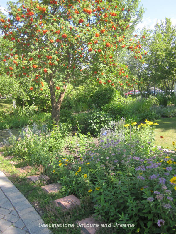 Biodiversity Garden at FortWhyte Alive: a 640-acre nature preserve in Winnipeg, Manitoba