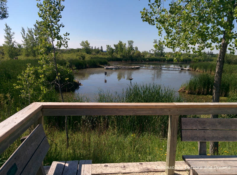 FortWhyte Alive: a 640-acre nature preserve in Winnipeg, Manitoba promotes awareness and understanding of the natural world through education, recreation and nature trails