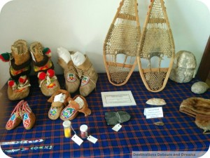 St. Andrew's Rectory display table