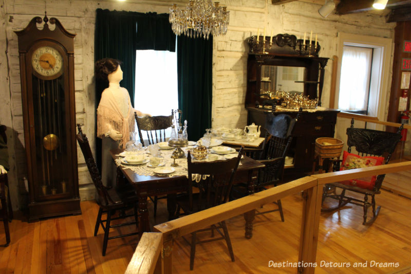 St. Boniface Museum, Winnipeg, Manitoba. Museum musings; Have you ever wondered what it would be like to live in the places depicted in museums?