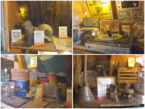 Displays at the World's Smallest Museum