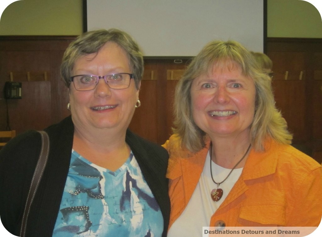 Doreen Pendgracs and Donna Janke