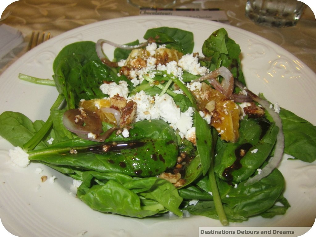 Orange and onion salad