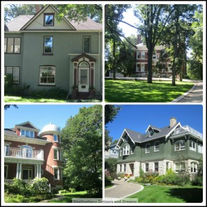 Armstrong's Point heritage homes