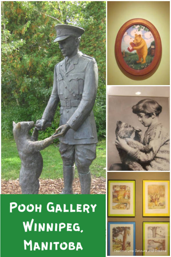 Pooh Gallery at Assiniboine Park in Winnipeg, Manitoba, home of Winnie-the-Pooh. #Winnipeg #Manitoba #Canada #Winnie-the-Pooh