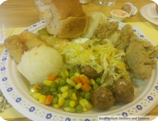 Manitoba fall supper plate