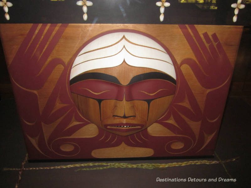 Brentwood Box from the Canadian Truth and Reconciliation Commission on display inside the Canadian Museum for Human Rights, Winnipeg, Manitoba