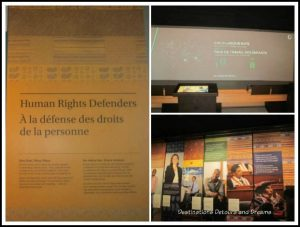 Inside the Canadian Museum for Human Rights, Winnipeg, Manitoba
