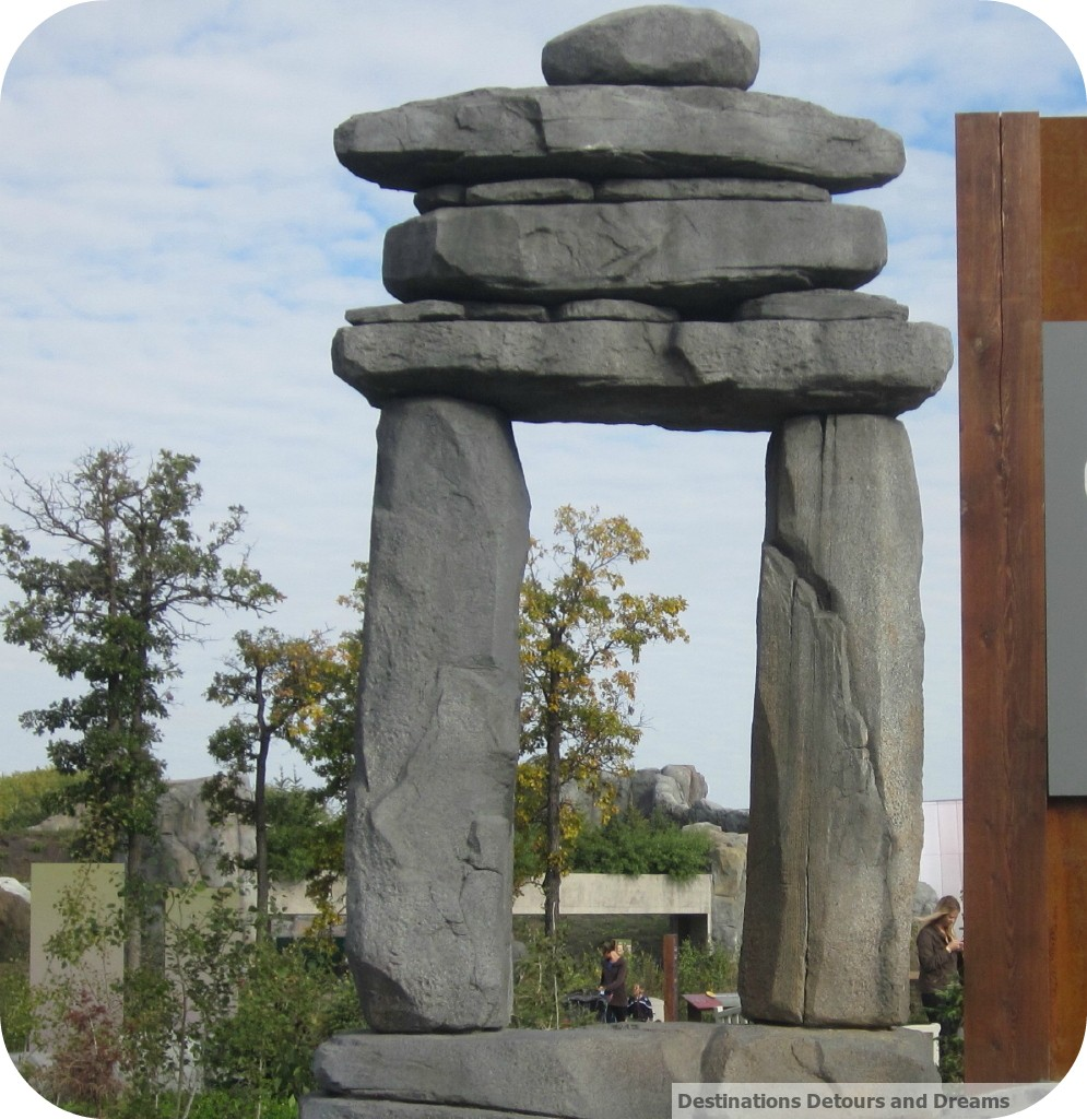 inukshuk showing way