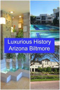 History tour at the iconic Arizona Biltmore Hotel in Phoenix
