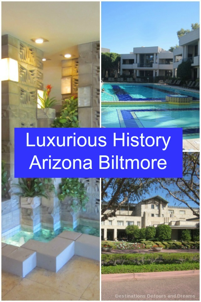 History tour at the iconic Arizona Biltmore Hotel in Phoenix