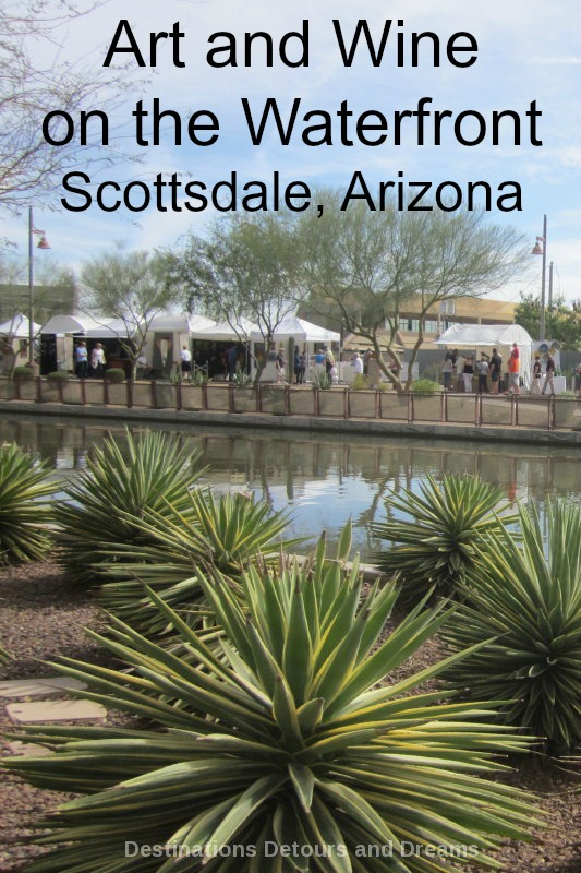 Waterfront Fine Art and Wine Festival in Scottsdale, Arizona