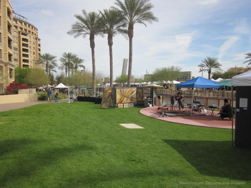 Musicians at Waterfront Fine Art & Wine Festival , Scottsdale, Arizona