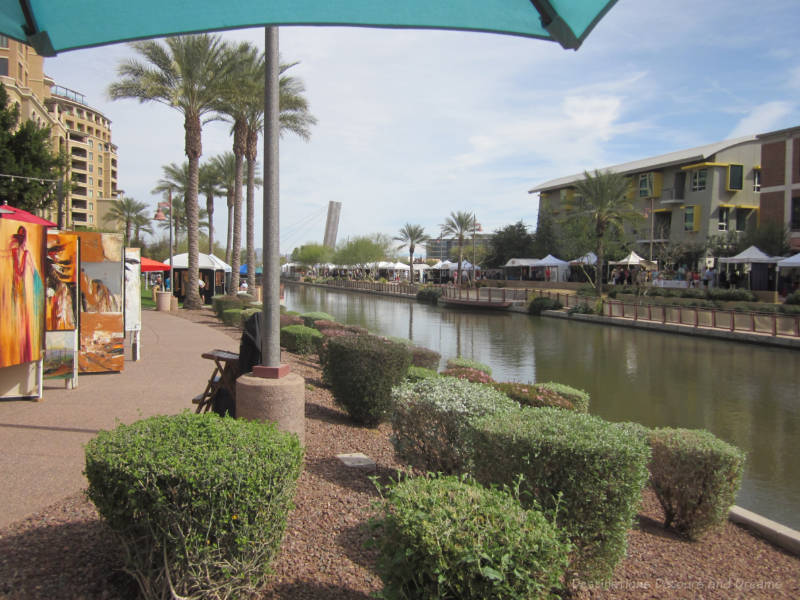Art and Wine on the Waterfront, Scottsdale Arizona