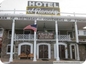 Front of El Rancho Hotel