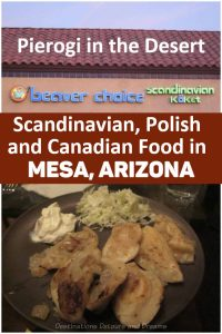 Eat All You Can Pierogi night at Beaver Choice, a Scandinavian, Polish, and Canadian kitchen in Mesa, Arizona #Mesa #Arizona #restaurant #pierogi