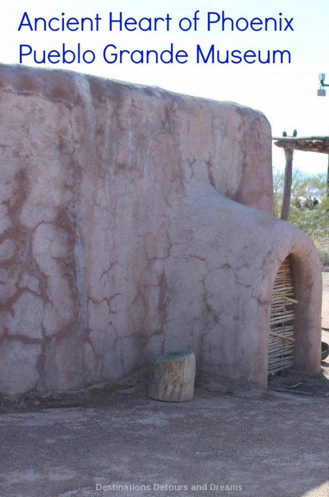 Ancient Heart of Phoenix - Hohokam history at Pueblo Grande Museum and Archaeological Park in Phoenix, Arizona #Arizona #Phoenix #history #Hohokam