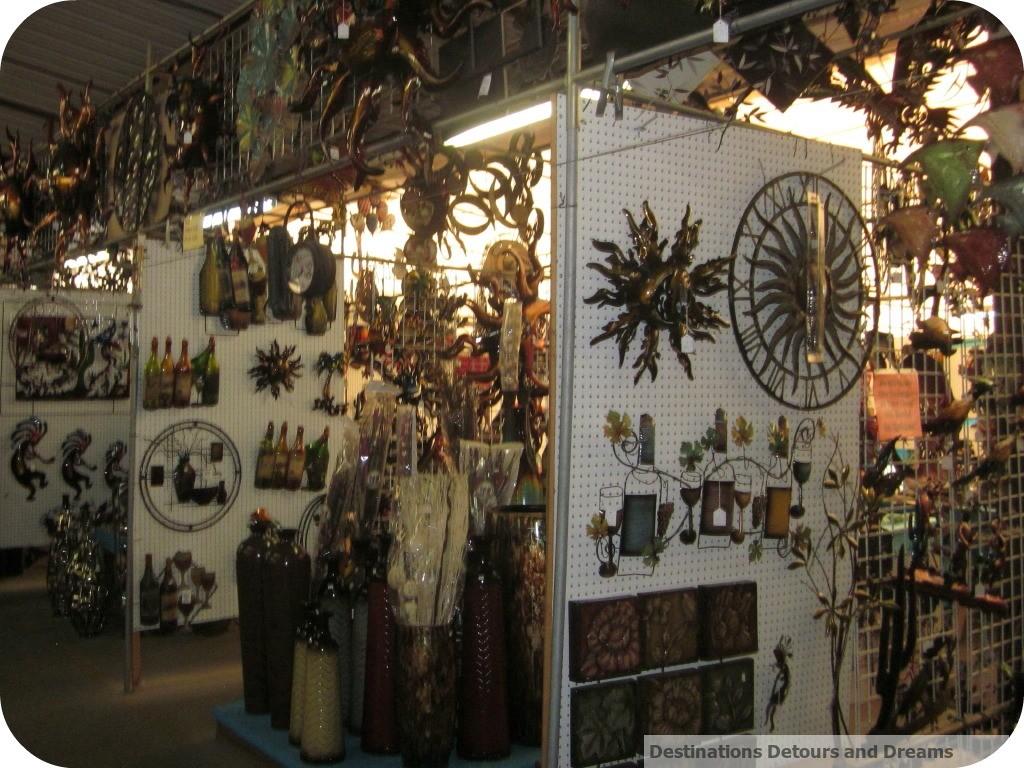 Mesa Market Swap Meet display