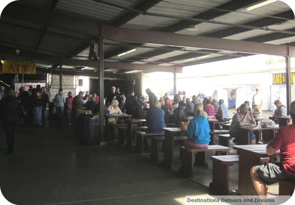 Mesa Market Swap Meet food court