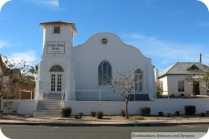 Yuma adobe mission church