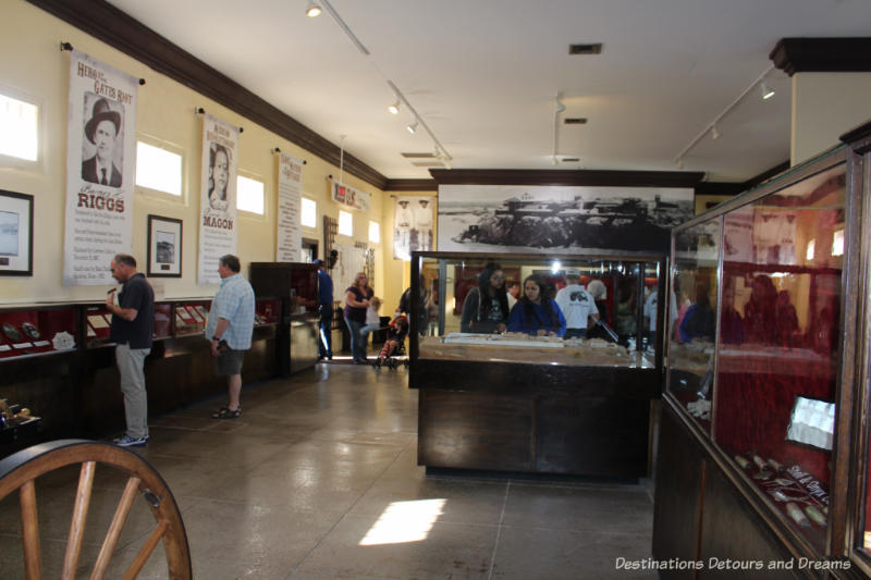 Displays in the Yuma Prison Museum