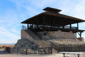 Water reservoir and guard tower at Yuma Prison Museum