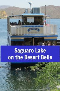 Sailing the Desert Belle on Saguaro Lake, Arizona and learning about unique ecosystems