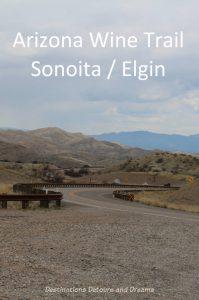 Arizona Sonoita/Elgin wine trail